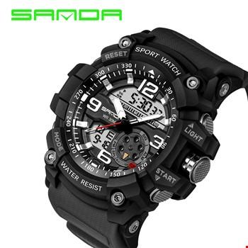 Sanda 759 S-Shock Su Geçirmez Spor Asker Kol Saati