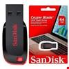 Sandisk Cruzer Blade 64 Gb Flash Bellek