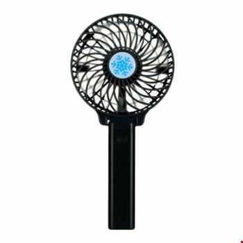 Şarjlı Mini Katlanabilir Masaüstü El Vantilatör Soğutucu Fan
