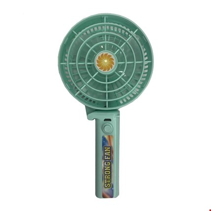 Şarjlı Mini Katlanabilir Masaüstü El Vantilatör Soğutucu Fan Md2 Renk: Turkuaz