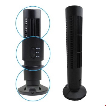 Usb Fan Vantilatör  Serinletici Kule  Tower Fan 2 Kademeli Usb