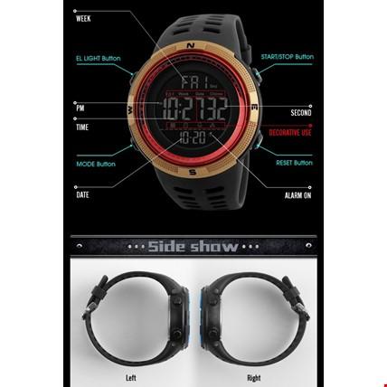 Skmei 1251 Dijital Su Geçirmez Spor Kol Saati Renk: Kırmızı