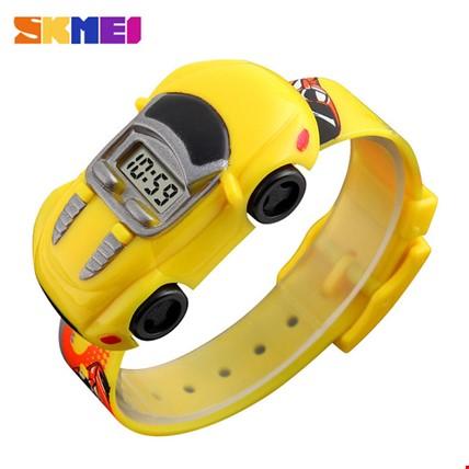 Skmei 1241 Dijital Arabalı Su Geçirmez Çocuk Saati Renk: Sarı