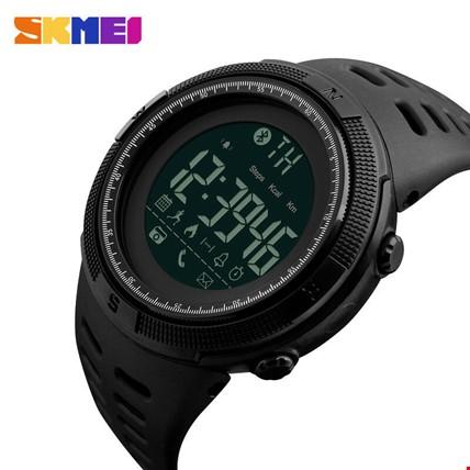 Skmei 1250 Akıllı Bluetooth Android İos Uyumlu Erkek Kol Saati Renk: Siyah
