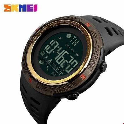 Skmei 1250 Akıllı Bluetooth Android İos Uyumlu Erkek Kol Saati Renk: Altın  Dore
