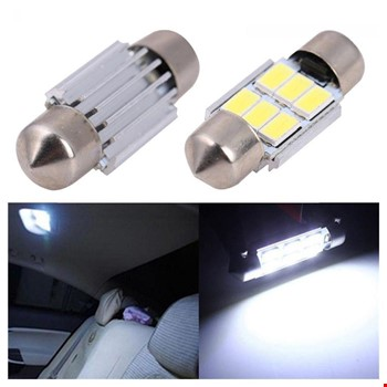 Sofit Led Tavan Plaka 6 SMD Canbus  5050 Festoon  C5W 36 MM