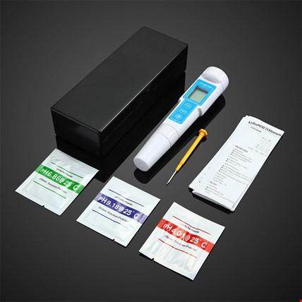 Kalem Tipi Hassas PH Metre Voltaj Ölçer Termometre
