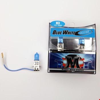 Tmt H3 Blue White Serisi 8000k Beyaz Işık Ampül 2 Adet
