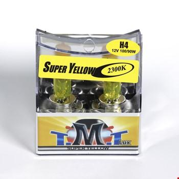 Tmt H4 Süper Yellow 2300k Sarı Işık Ampül 2 Adet 12v 100-90w