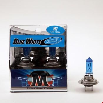 Tmt H7 Blue White Serisi 8000k Beyaz Işık Ampül 2 Adet