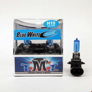 Tmt H10 Blue White Serisi 8000k Beyaz Işık Ampül 2 Adet