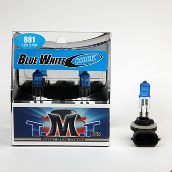 Tmt H27 881 Blue White Serisi 8000k Beyaz Işık Ampül 2 Adet