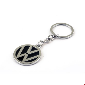 Volkswagen Logo Amblemli Krom Araba Oto Anahtarlık