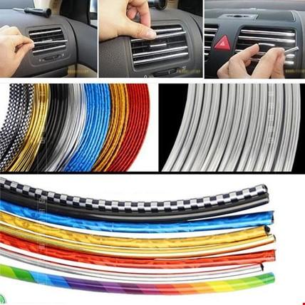 Araç İçi Dışı Geçmeli Koruyucu U Tipi Nikelaj Çıta 3-5-8-10-15 M