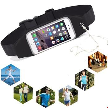 Tüm Modeller uyumlu Spor Cep Telefonu Bel Çantası Kulaklık Çıkışı