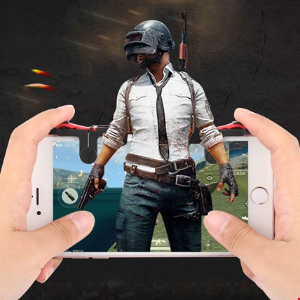Tüm Telefonlar İçin Oyun Adaptörü PubG Ateş Tetik Düğmesi MD5 Tetik Modeli: Md5