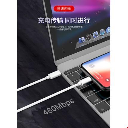 Type-C to iPhone Lightning QC 3.0  5 Amper Şarj Data Kablosu