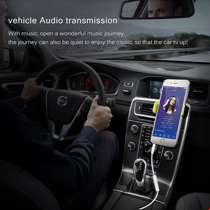 Apple iPhone iPod iPad 3.5mm Erkek Stereo Ses Aux Kablosu MH034