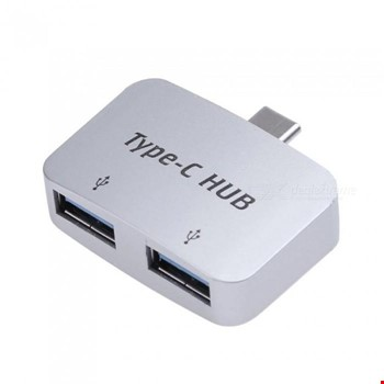 Type-C Usb 3.1 Çoklayıcı Hub 2 USB 3.0 2 Port Usb Hub