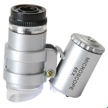 Mini Ledli 45X Mikroskop Parmak Mikroskop