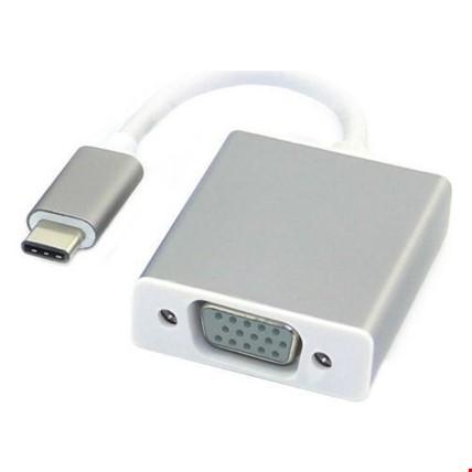 Usb Type-C 3.1 to Vga Çevirici Dönüştürücü Adaptör Kablosu