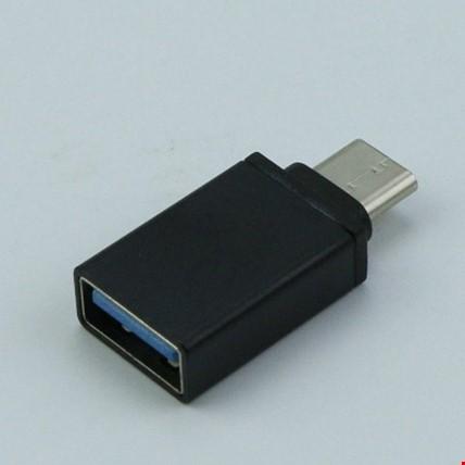 USB C TYPE-C Otg Flash Bellek Mouse Aparatı Çevirici Tüm Type C Renk: Siyah