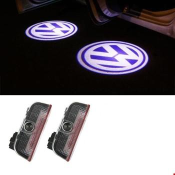 Volkswagen Golf 7 2012-2018 Kapı Altı Led Logo Aydınlatma Ghost