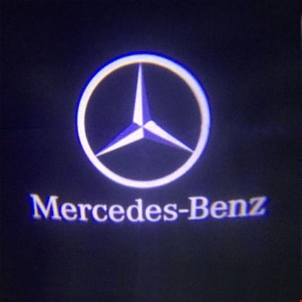 Mercedes C Serisi 2008-2013 W204 Kapı Altı Led Logo Aydınlatma