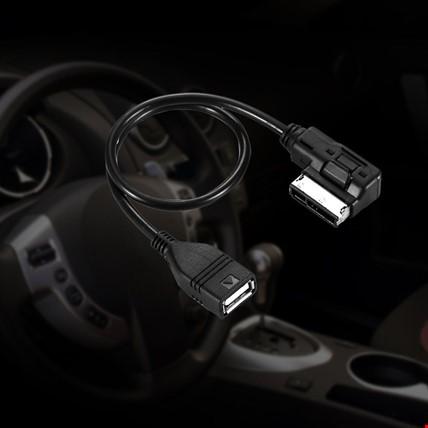 Audi Vw Skoda AM I USB MMI MDI AUX - USB 2.0 Dişi Adaptör Sku3