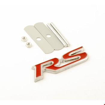 Ford Focus RS Kırmızı Vidalı Logo Amblem 3D Metal