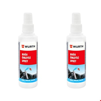 Würth Buğu Önleyici Anti Fog Spray 2 Adet 170ml