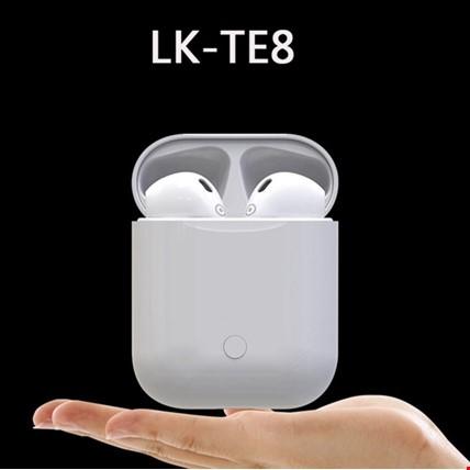 LK-TE8 Bluetooth 5.0 Kulaklık iPhone Android Siri Kablosuz Şarjlı