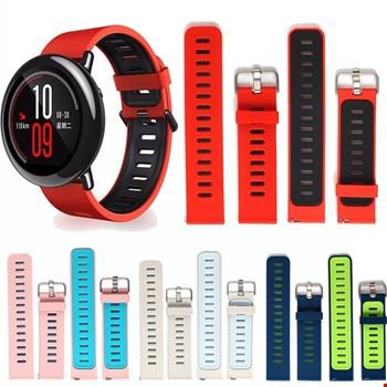 Xiaomi Amazfit Akıllı Saat Silikon Bileklik Renkli Kordon Kayış