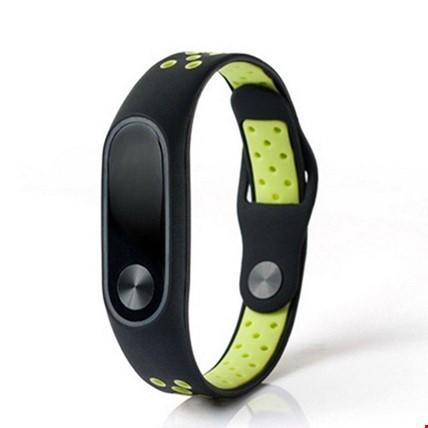 Xiaomi Mi Band 2 Renkli Delikli Bileklik Nike Silikon Kordon Kayış Renk: YeşilEkran Koruyucu: İstiyorum