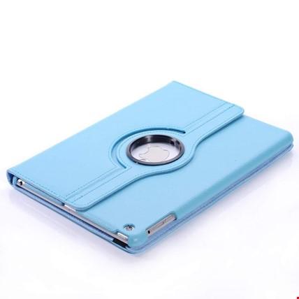 iPad Pro 9.7 360 Ayarlanabilir Dönebilen Kılıf Standlı Renk: Turkuaz