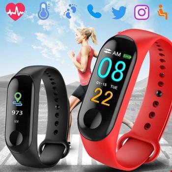 M3 Bileklik Adımsayar Kalorimetre Nabız Ölçer Spor Akıllı Saat